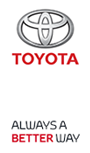 Toyota logo. Go back to homepage.